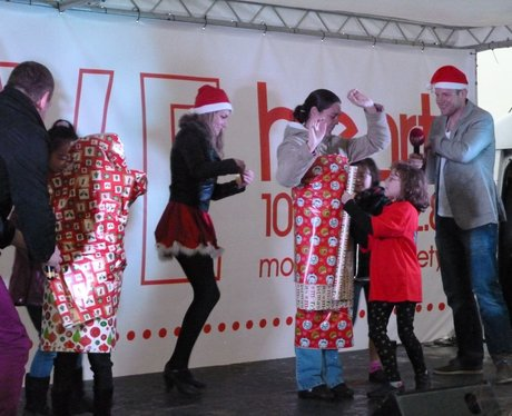 Westwood Cross Christmas Light Switch on!