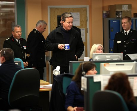 David Cameron in Gloucestershire