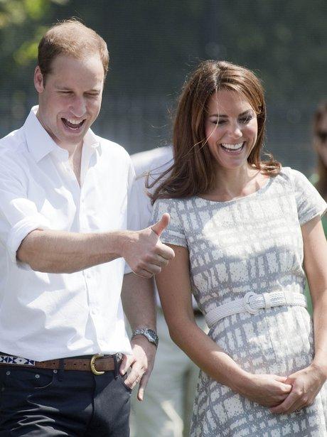 Duke and Duchess of Cambridge July 2012