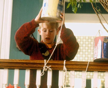 its macaulay culkin in home alone guess the 90s movie