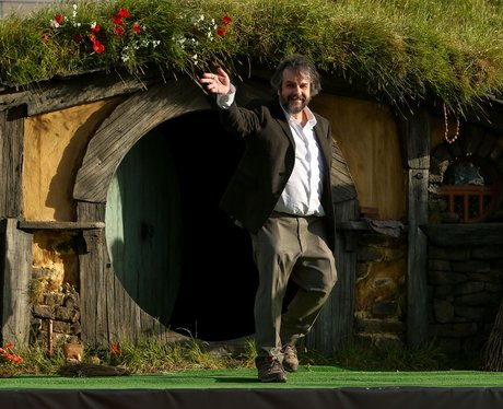 Peter Jackson at The Hobbit premiere