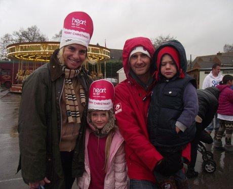 Santa's Arrival at Yarnton