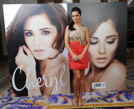 Cheryl Cole signs copies of her book My Story