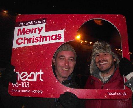 Christmas in bishops Waltham