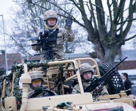 Light Dragoons Homecoming Parade