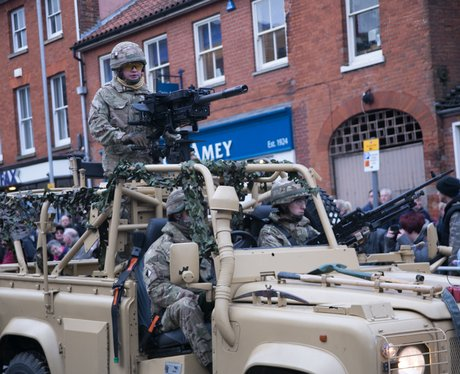 Light Dragoons Homecoming Parade
