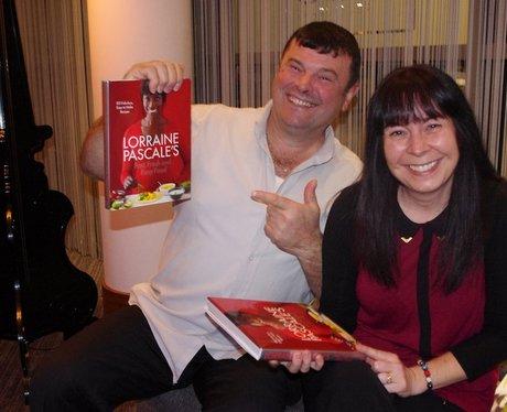 Lorraine Pascale's Book launch at Hotel La Tour
