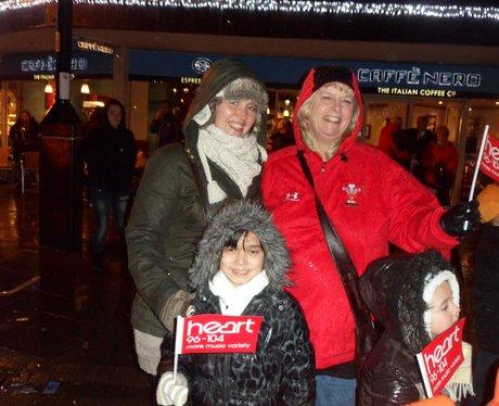 Santa Claus arrives in Wrexham
