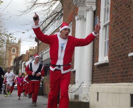 Ian Rennie Grove Hospice Jingle Bell Jog