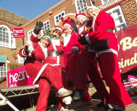 Ian Rennie Grove Hospice Jingle Bell Jog
