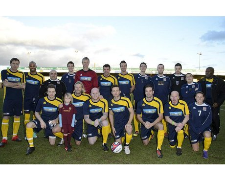 Celebrity Charity Match at The Cobblers