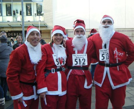 The Hospice of St Francis Santa Dash