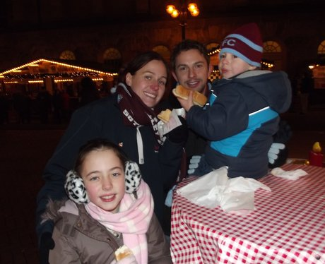 Frankfurt Christmas Market evenings