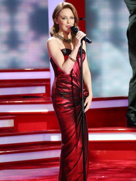 Kylie performs in Germany