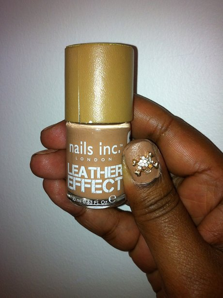 Nails Inc, Leather