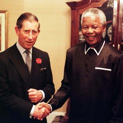 Nelson Mandela and Prince Charles