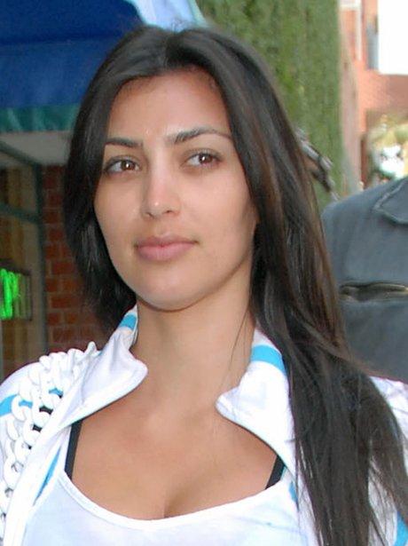 Kim Kardashian without make-up