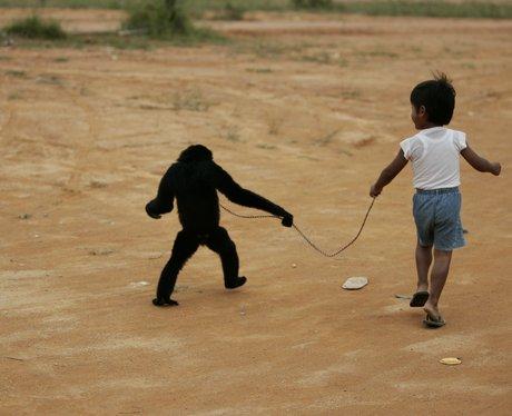 Boy whose best friend is a gibbon