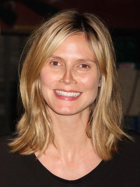 Heidi Klum without make-up