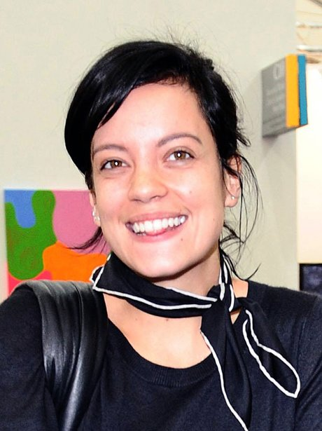 Lily Allen without make-up