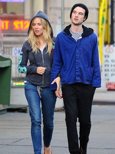 Sienna Miller and Tom Sturridge in New York