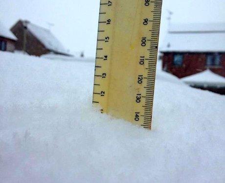 Pewsey snow