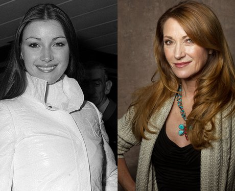A young Jane Seymour and Jane Seymour at 61