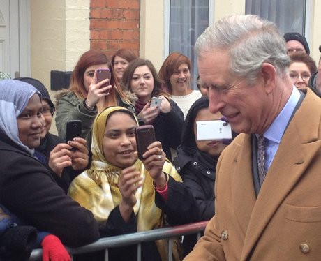 Prince Charles In Northampton