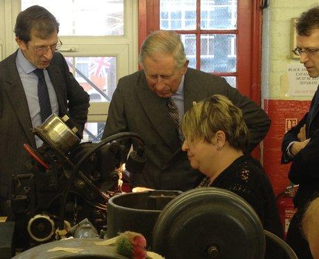 Prince Charles In Northampton