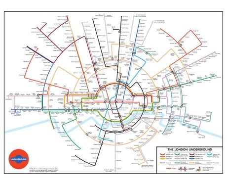 Alternative Tube Map