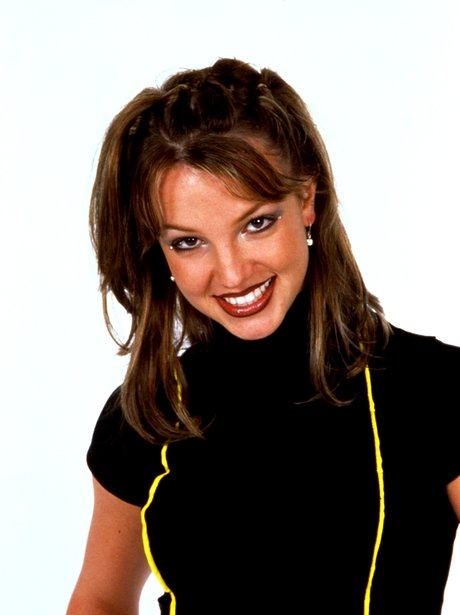 A young Britney Spears