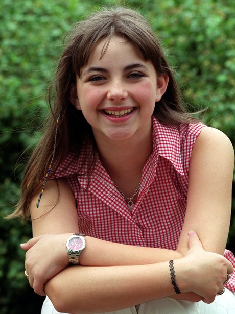 A young Charlotte Church