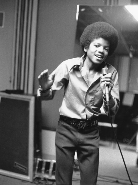Michael Jackson as a young boy
