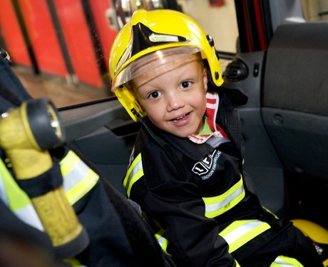 My wish is to be a fireman...