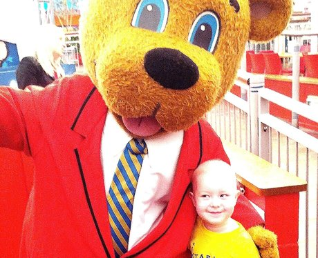 My wish is to meet Billy Bear at Butlins...