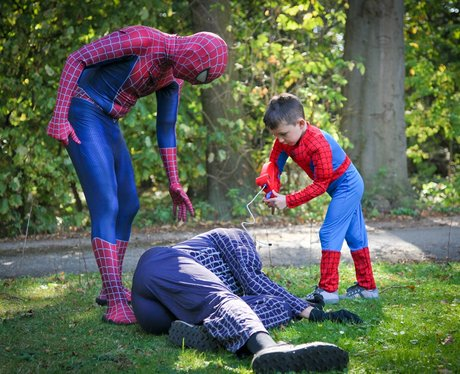 My wish is to meet Spiderman...