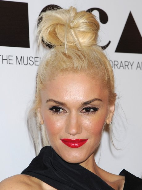 Celebrity Hair The Top Knot Heart