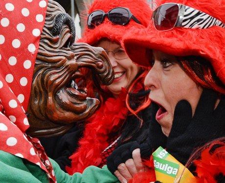 Carnival parade in Germany