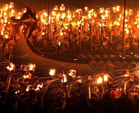 Viking Festival in Shetland