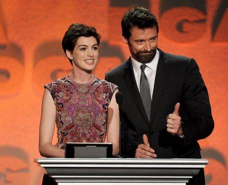 Anne Hathaway Hugh Jackman Directors Guild Awards