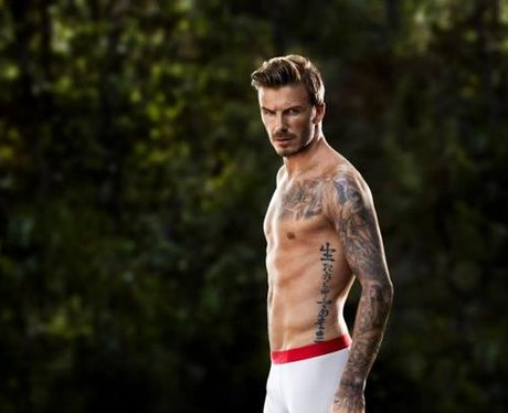 David Beckham in his pants