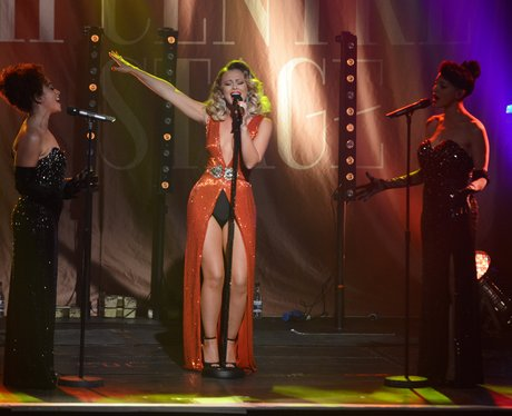 Kimberley Walsh performs at G.A.Y
