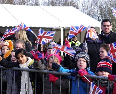 Princess Anne Visits Northamptonshire