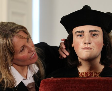 The face of King Richard lll