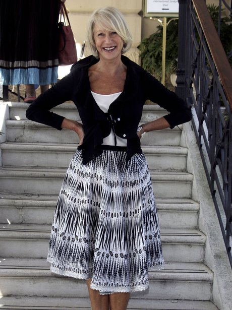 a dressed down helen mirren shows why shes film royalty