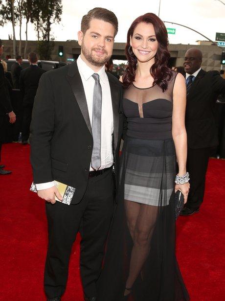 Jack Osbourne arrives at the Grammy Awards 2013