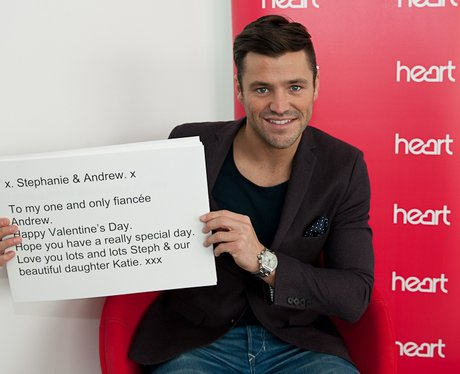 Mark Wright's Valentine's Day Messages