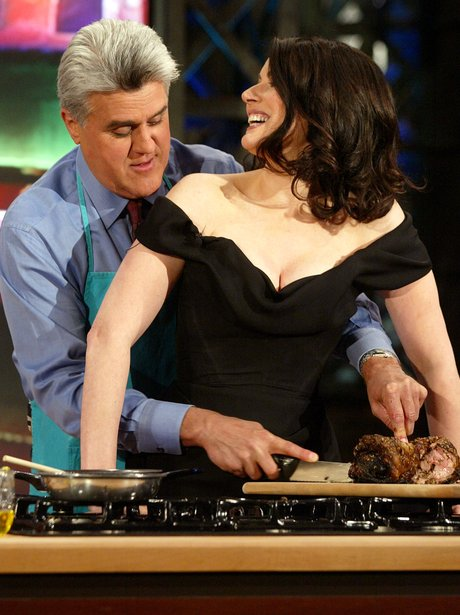 Nigella Lawson on the Jay Leno show