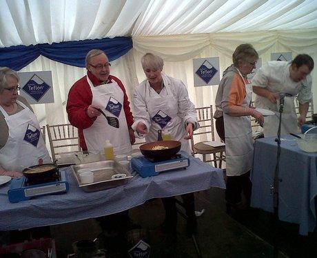 Olney Pancake Race 2013