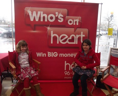 Who's On Heart At Sainsbury's Heyford Hill